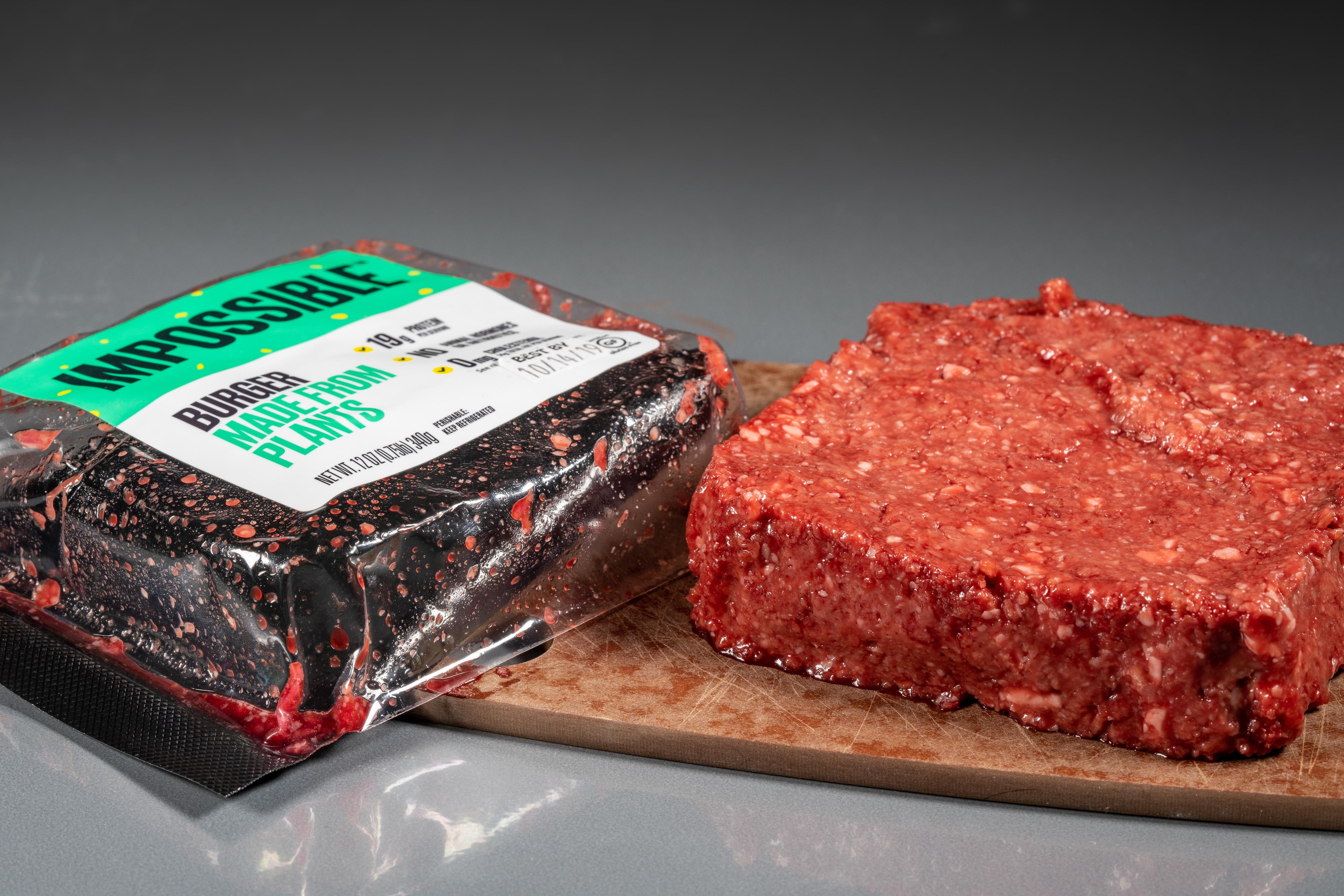 IMPOSSIBLE BURGER MEAT, PHOTO ADOBE ACRONYM