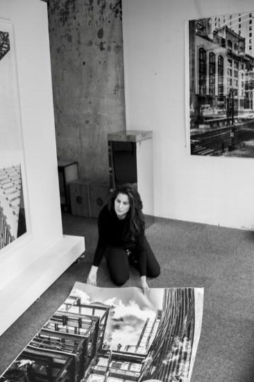 Lisa Spindler at work