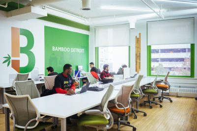 BAMBOO DETROIT WORKSPACE. PHOTO AMI NICOLE / ACRONYM
