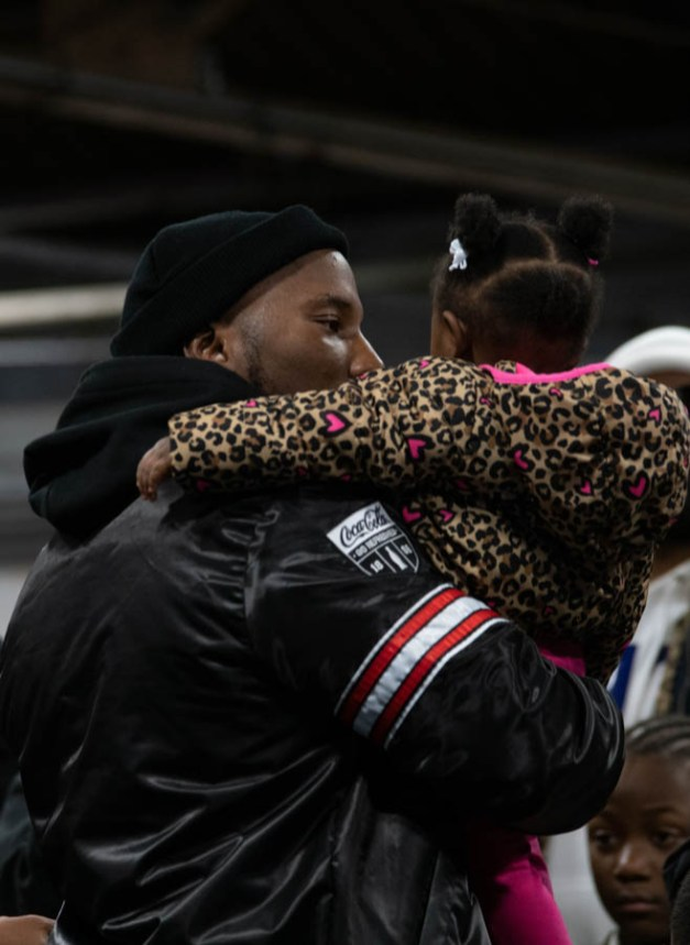 JEEZY AT DETROIT BOXING GYM YOUTH PROGRAM. PHOTO AMI NICOLE / ACRONYM