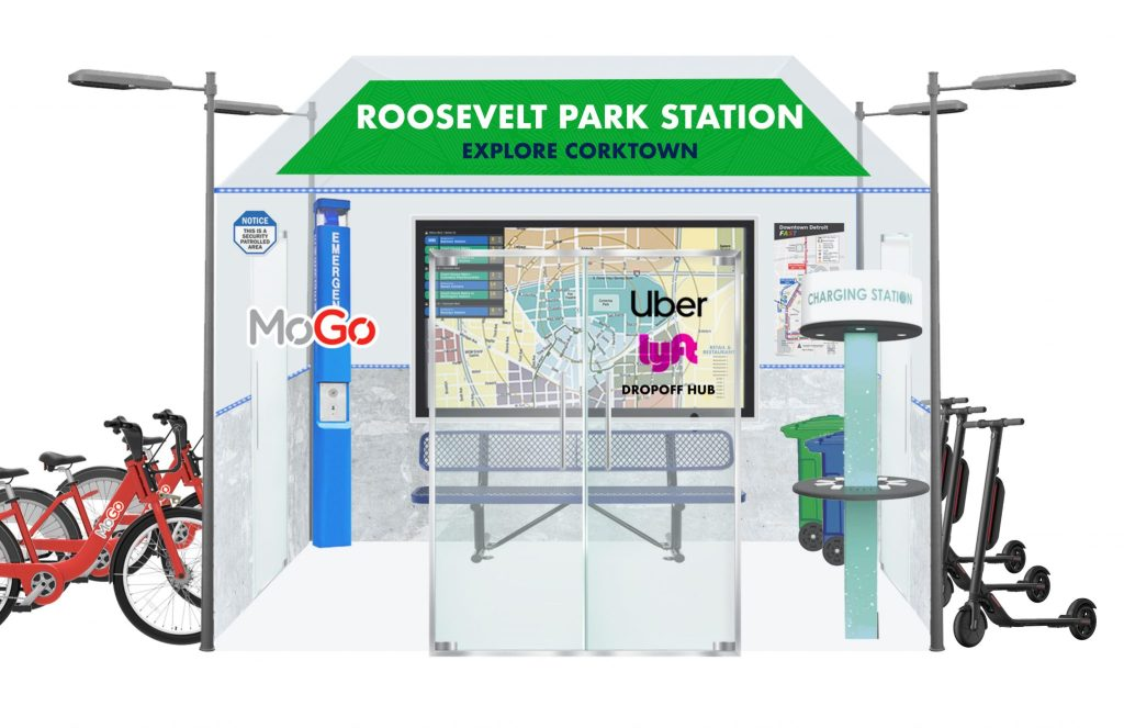 CORKTOWN MOBILITY STATION RENDERING