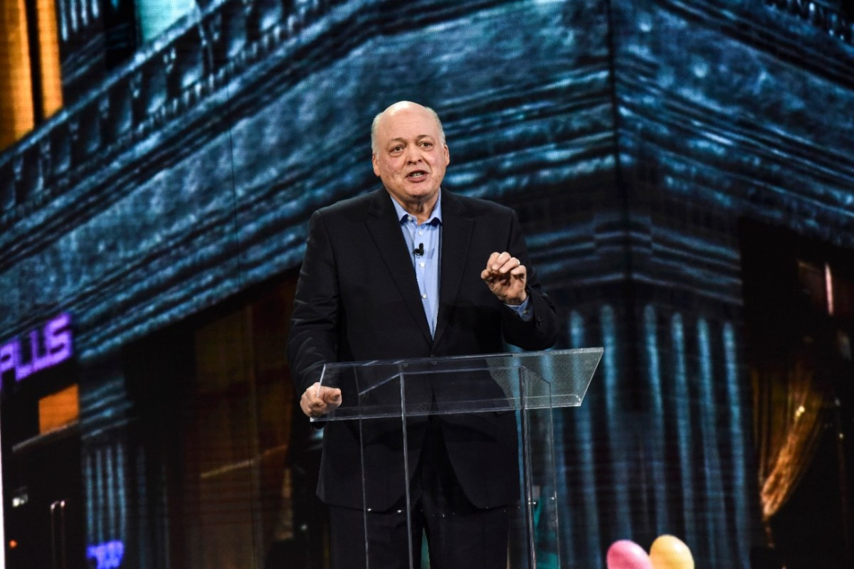 FORD CEO JIM HACKETT IN 2018. PHOTO FORD