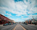 curbside DETROIT'S CORKTOWN NEIGHBORHOOD. PHOTO AMI NICOLE / ACRONYM