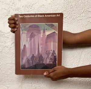 TWO CENTURIES OF BLACK AMERICAN ART. PHOTO BLACK ART LIBRARY.