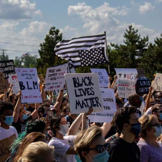 protests // A MARCH IN MACOMB COUNTY. PHOTO JOHN BOZICK