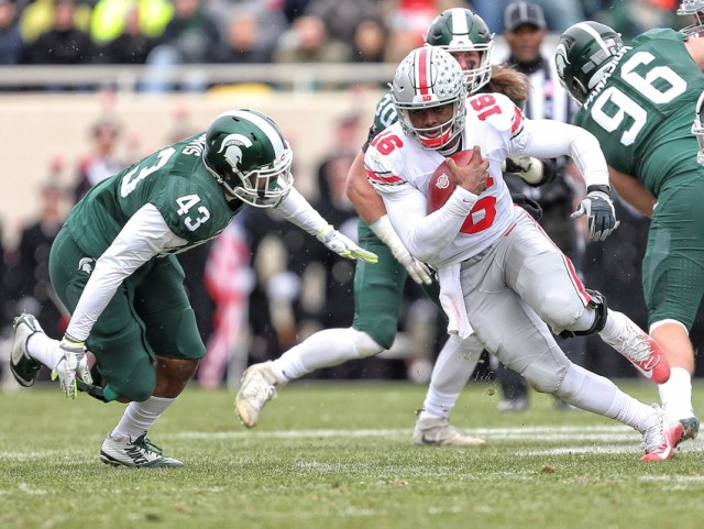 Image result for Ohio State Buckeyes vs. Michigan State Spartans