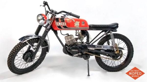1973 Yamaha RD60 two stroke motorcycle IMG_8223