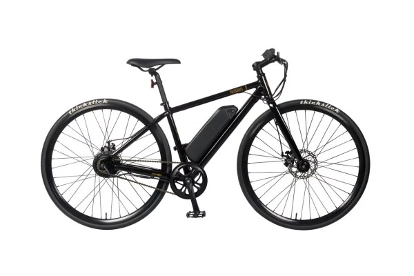 Side profile of the E-Sparrow electric bicycle