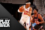 Pistons rally from 11 down to win a Sunday classic over Heat in 3-point shootout