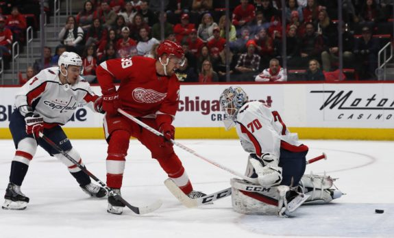 Detroit Red Wings Anthony Mantha Washington Capitals Braden Holtby