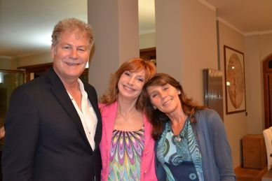 Richard, Loretta e Gianna