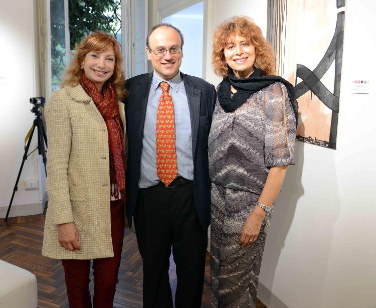Loretta Del Ponte, Guido Folco, Pierette Simpson