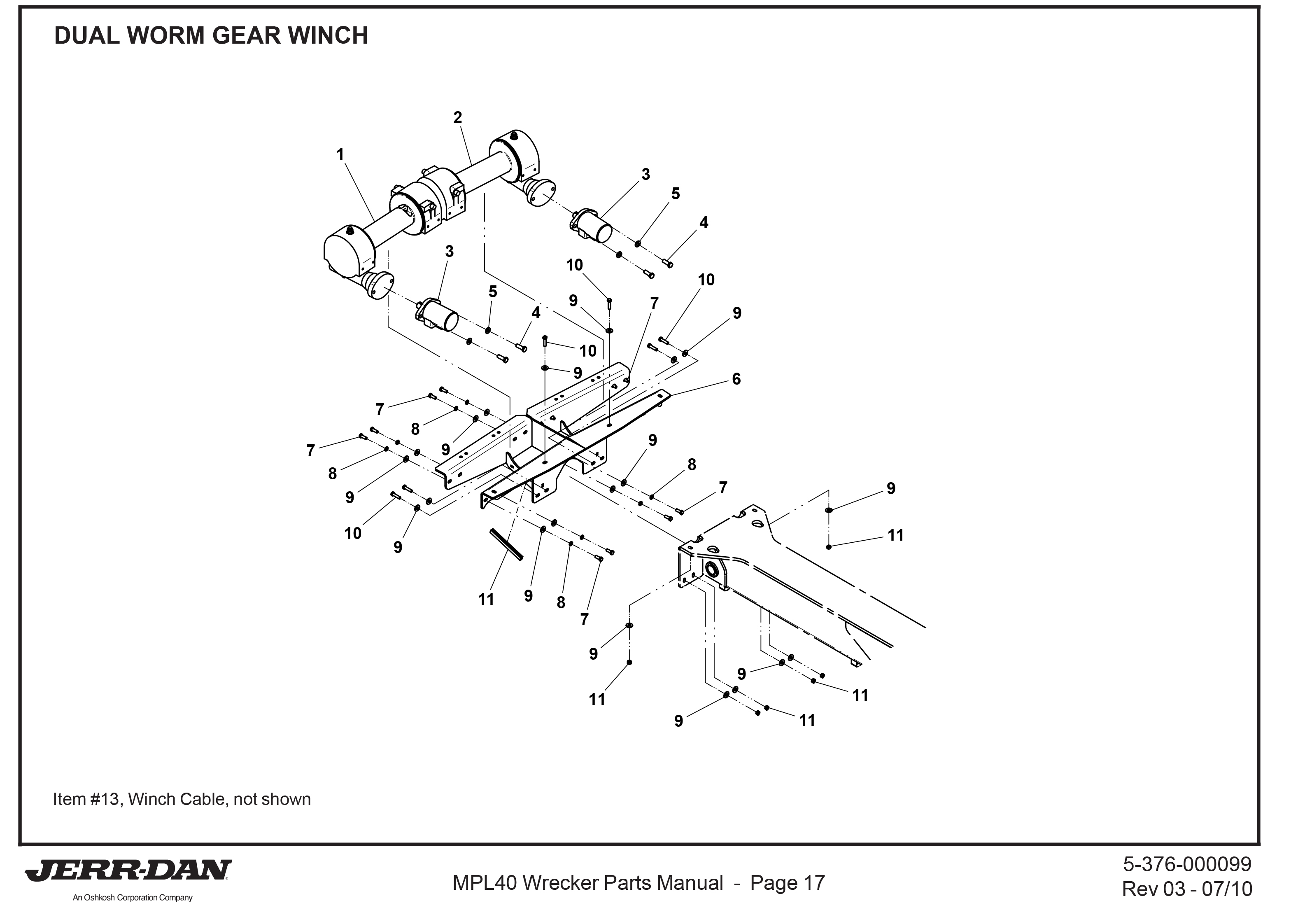 Ramsey Winch Parts Page 7 Detroit Wrecker Sales