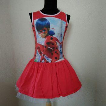 детска ежедневна рокля Калинката без ръкав