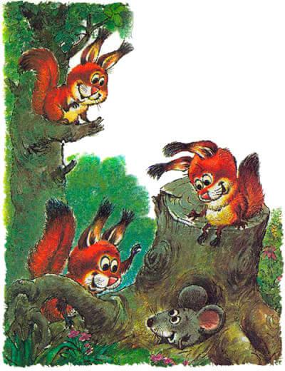 Самуил Маршак — Сказка об умном мышонке. Слушать онлайн ...