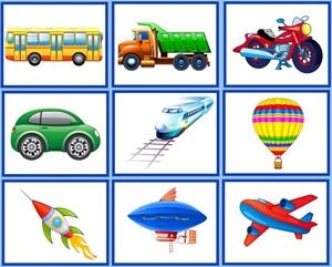 Виды транспорта для детей в картинках - Все для детского ...