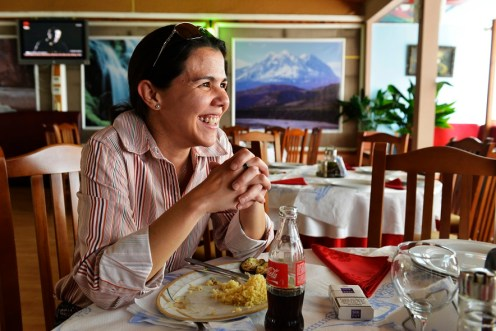Kvinnen som fikk jobben jeg så stillingsannonsen til, Marissa Durán.