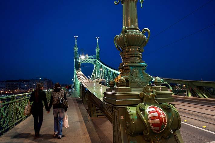 Frihetsbroa i Budapest