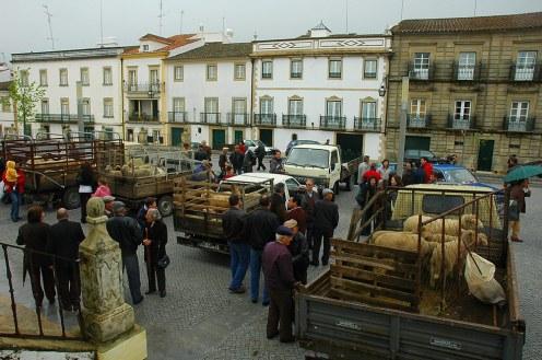 påske i Castelo de Vide, Portugal. Benção dos Cordeiros, blessing of the lambs, velsignelsen av lammene