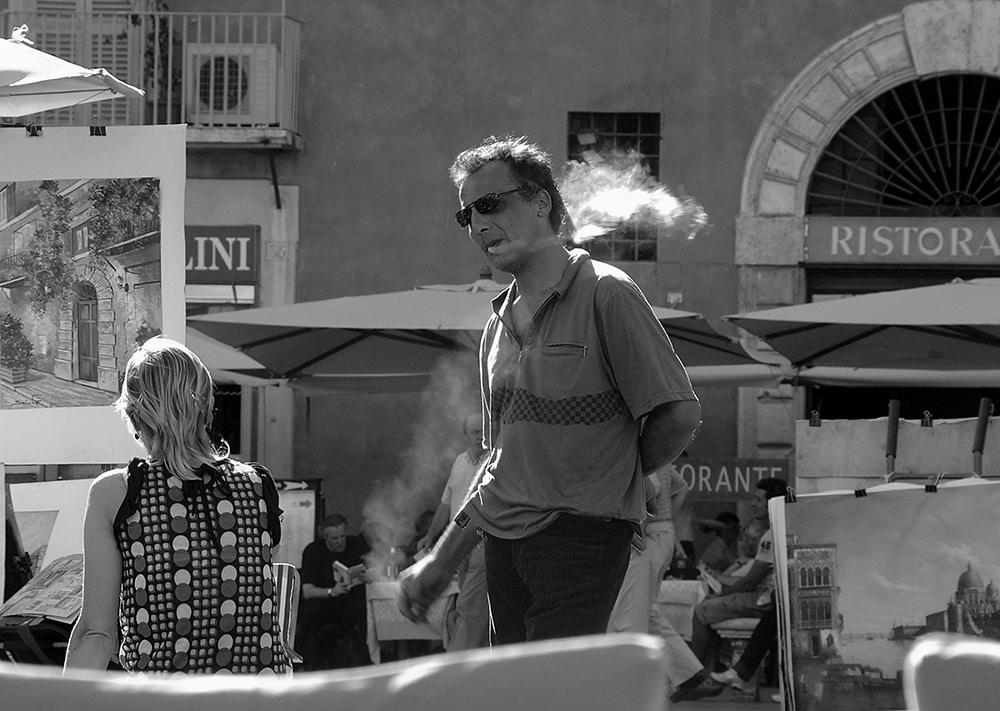 Piazza Navona, Roma, italienere