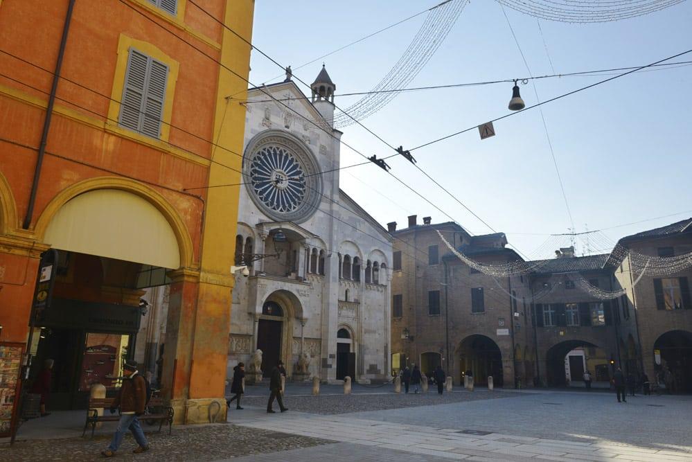 Piazza Grande, Modena, Italia