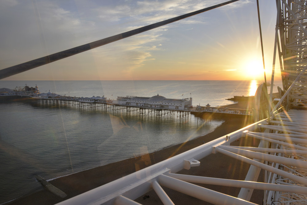 Brighton Pier, Brighton Wheel.