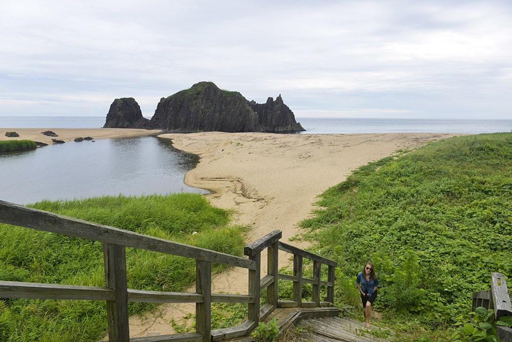 Tate-iwa, strand, Japan, strandferie, Tango
