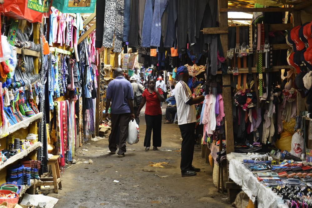 Kibera marked, Afrikansk marked, Kenya