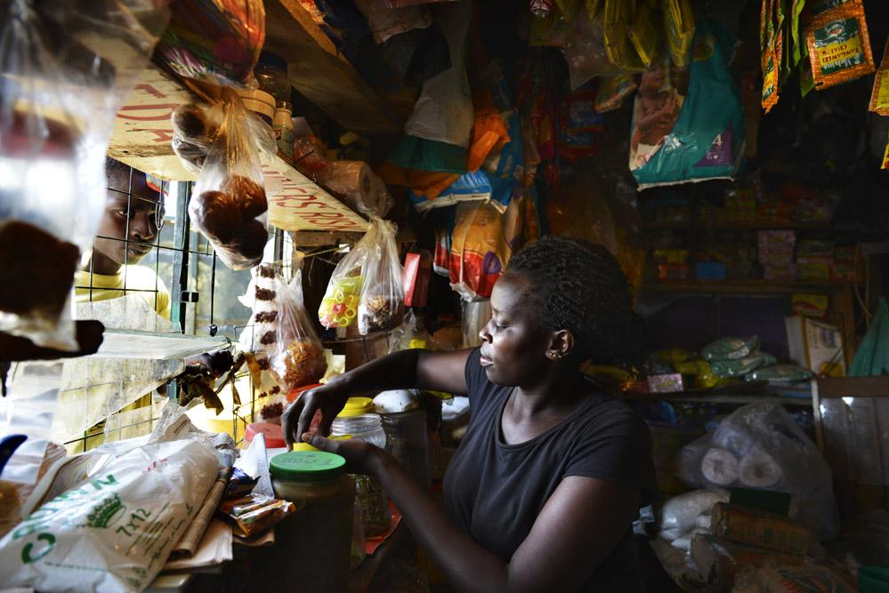 Kibera, afrikansk butikk