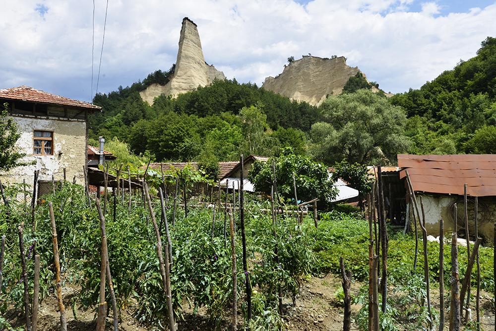 Melniks pyramider, Melnik, Bulgaria.
