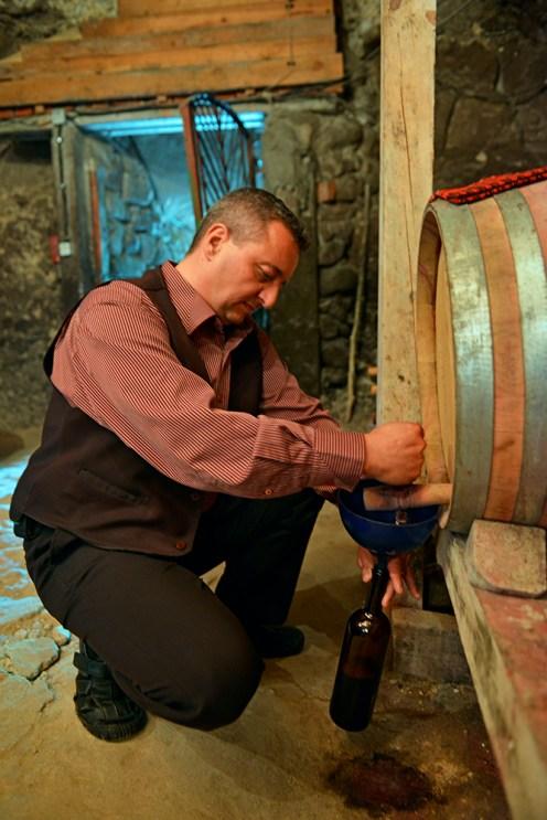 Shestaka, vinsmaking i Bulgaria, Melnik