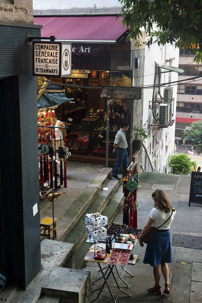 Upper Lascar Row i Hong Kong.