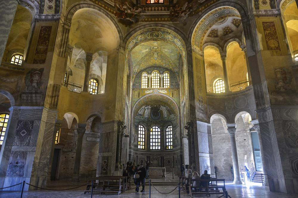 Basilica San Vitale, Ravenna, Unesco verdensarv, Italia, kunst