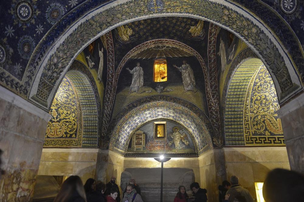 Mausoleo di Galla Placidia, mausoleet til Galla Placidia, Ravenna, mosaikk, kunst, verdensarv