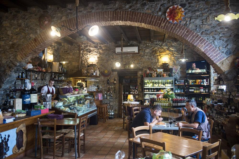 La Trinacria, Cefalù, delikatesser