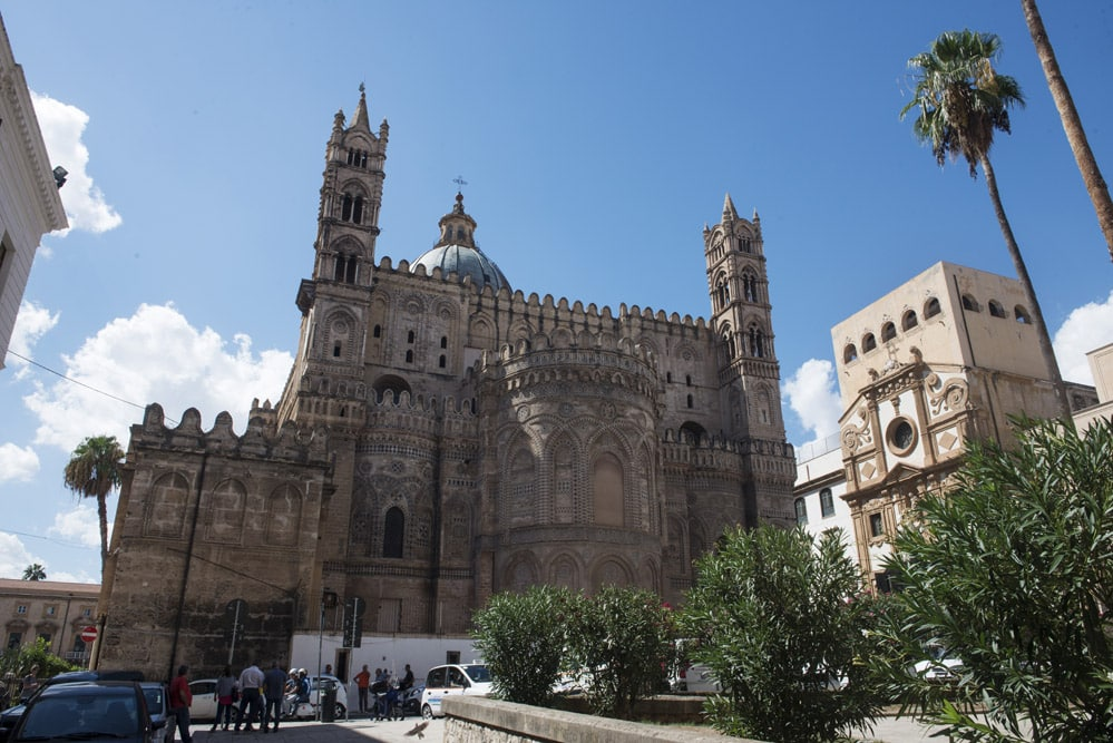 Duomo Palermo, katedral, normannisk arkitektur, kirke