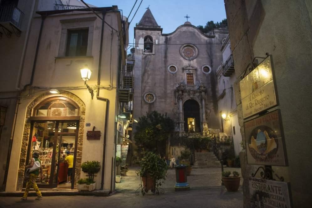 Chiesa del Purgatorio, Cefalù, barokkirke Sicilia
