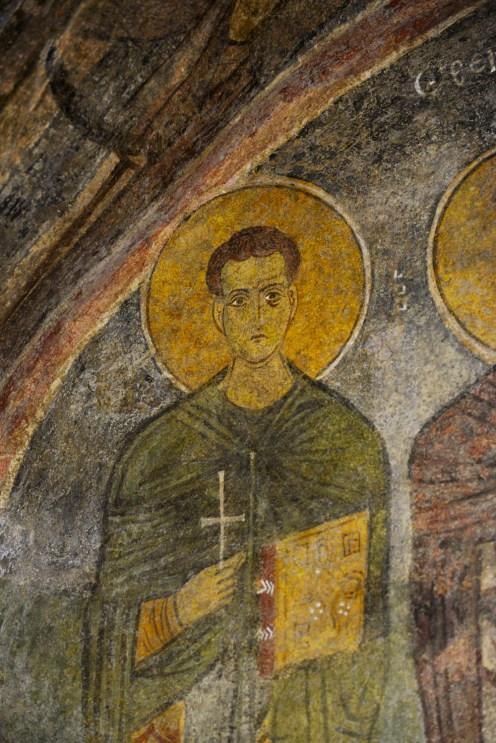 St. Nikolas-kirken i Myra, Demre, Tyrkia, freske