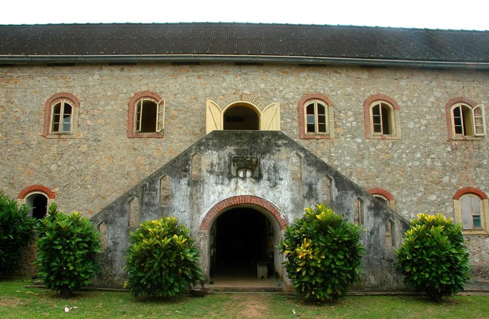Gross Friedrichsburg i Princess Town, kystfort i Ghana