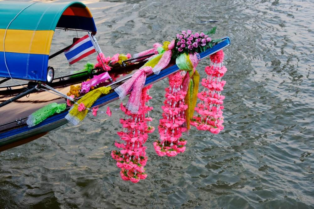 Båt i Bangkok