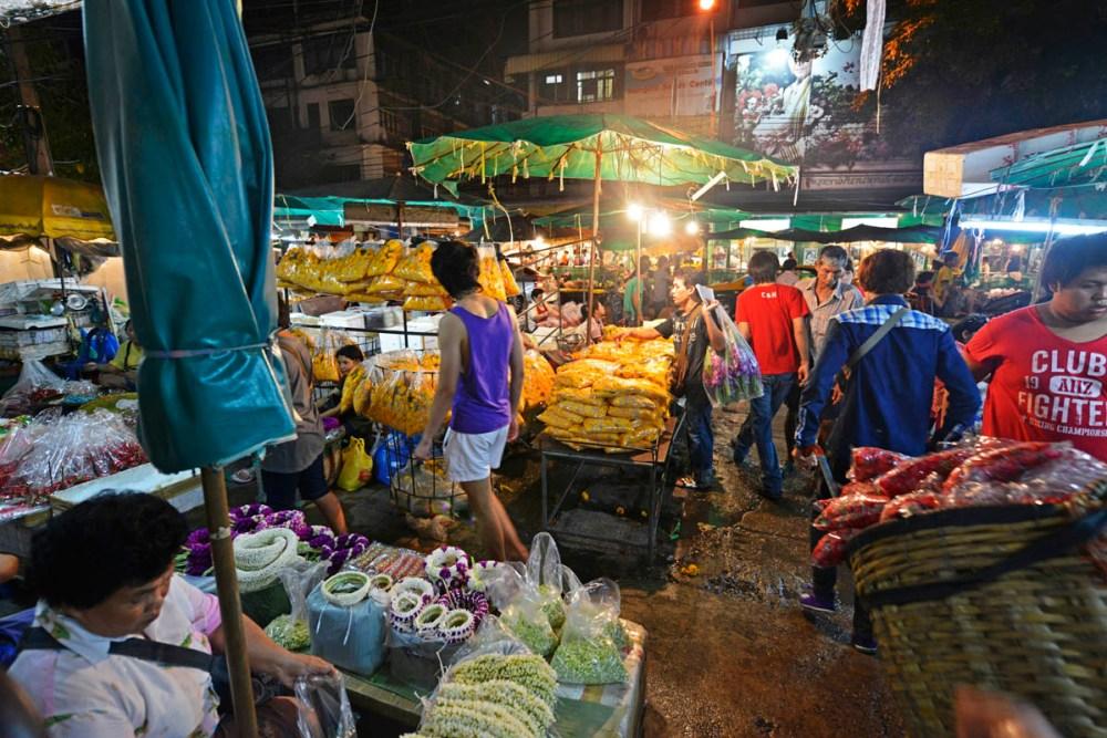 Blomstermarked i Bangkok, Pak Klong Talad