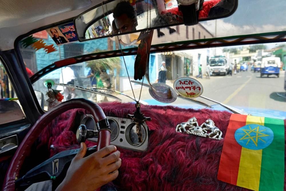 taxi i Etiopia
