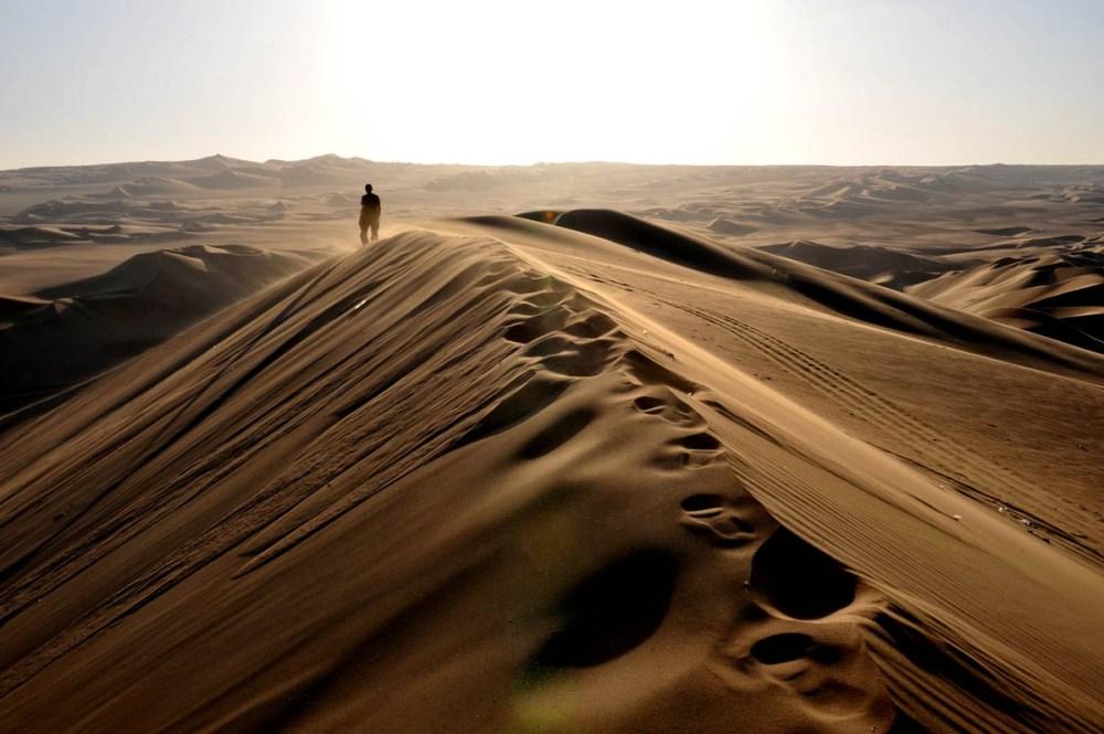 Huacachina sanddyne i Peru
