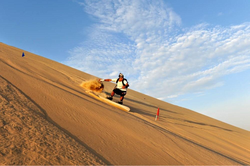 sandboarding i Peru, Huacachina