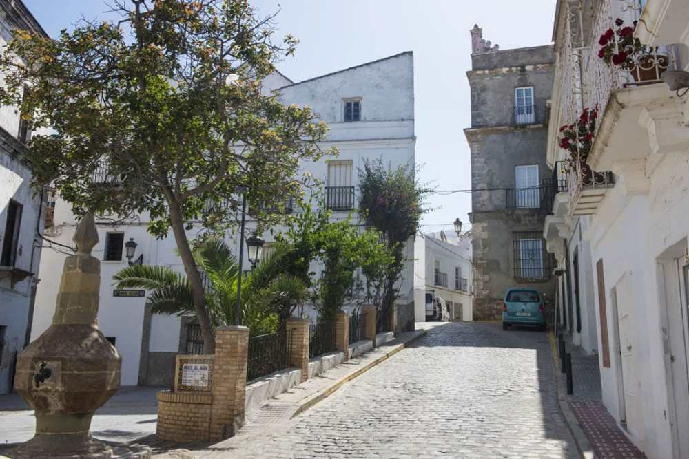 gamlebyen i Tarifa