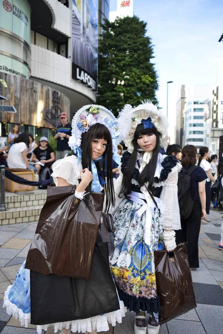 Harajuku og cosplay i Tokyo
