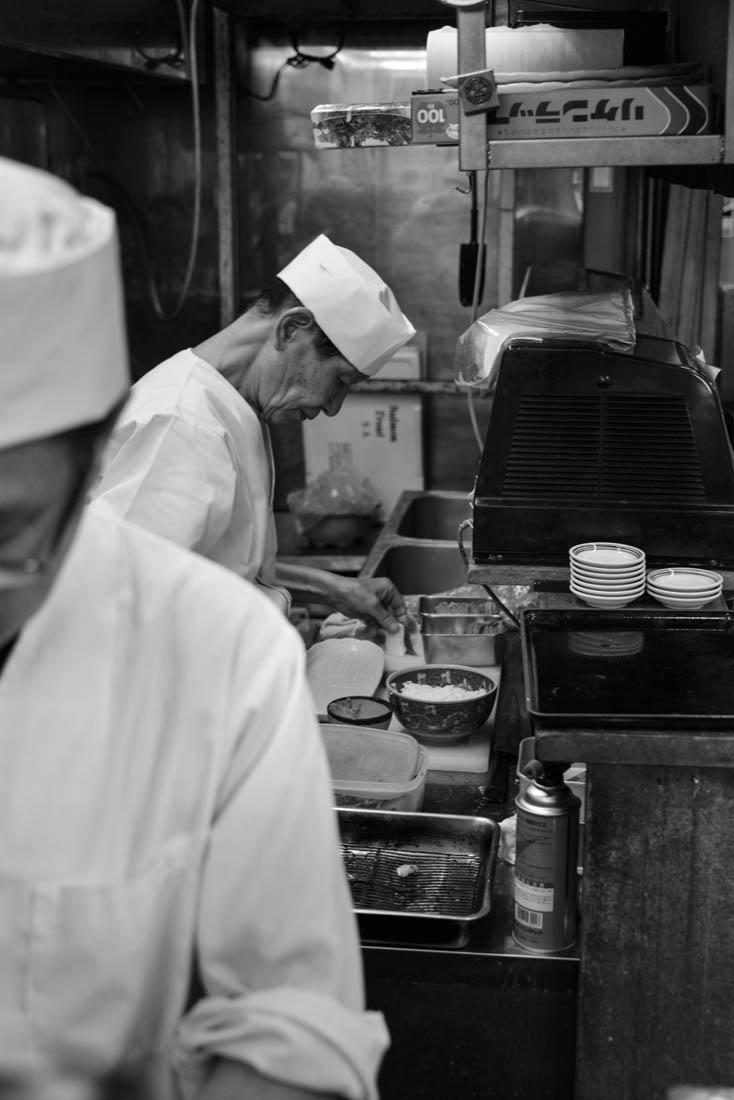 Sushi i Tokyo