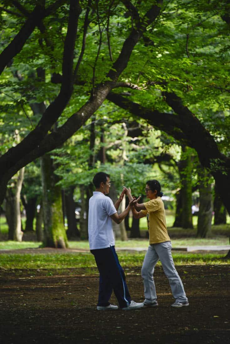Yoyogi-kōen park i Tokyo