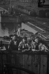 Historisk bilde av skipsverft på Marstal