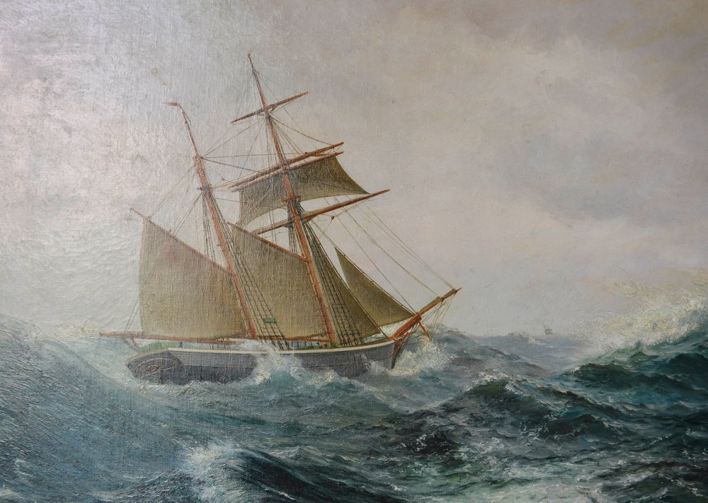 Skipsmaleri i Marstal